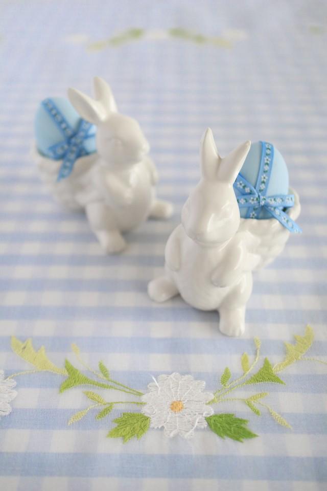 【再入荷】Garden Bunny エッグスタンド 2個set