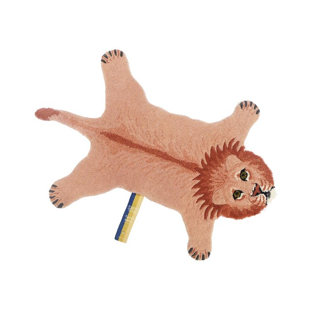 Pinky Lion Rug Small