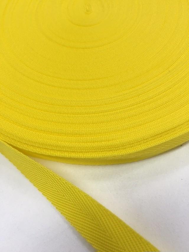 PP 杉綾織(綾テープ)  20mm幅  0.8㎜厚 蛍光 ビタミンカラー  5m単位