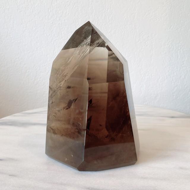 天然シトリン Citrine 天然石 レア大型 ヒーリングストーン