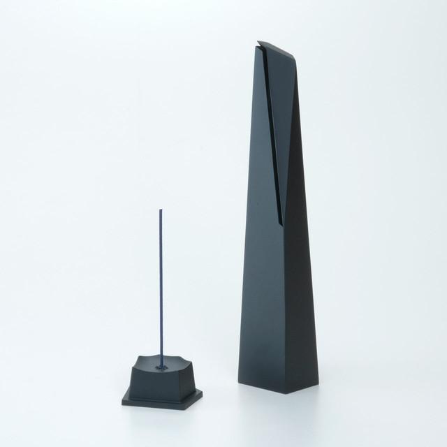 《アルミ鋳物の香炉》香炉(Lサイズ)Oyster incense (オイスターインセンス)- naft