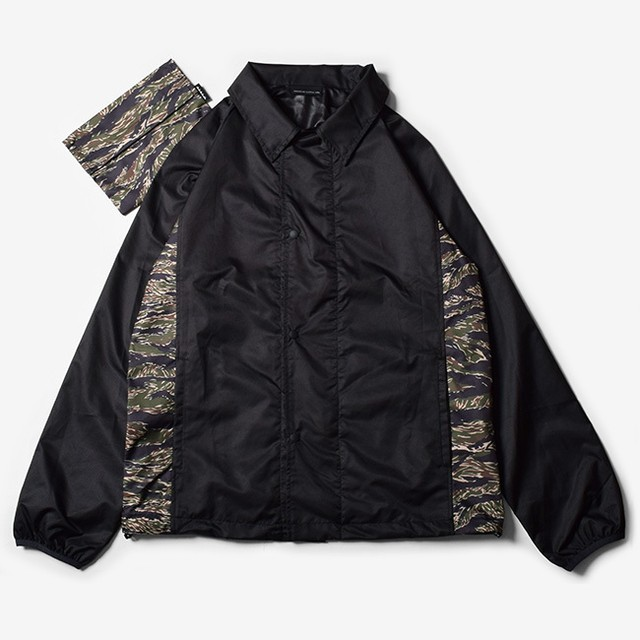 MMA Packable Running Corches Jacket (Black)