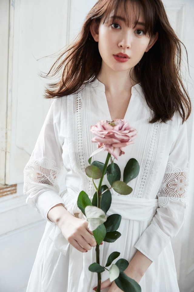 Belted Embroidered Cotton Dress