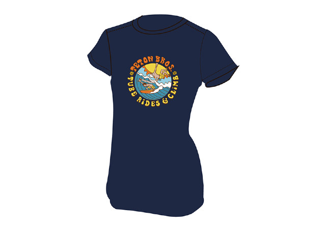 【Teton Bros】 Ws Surf and Climb Tee(Navy)