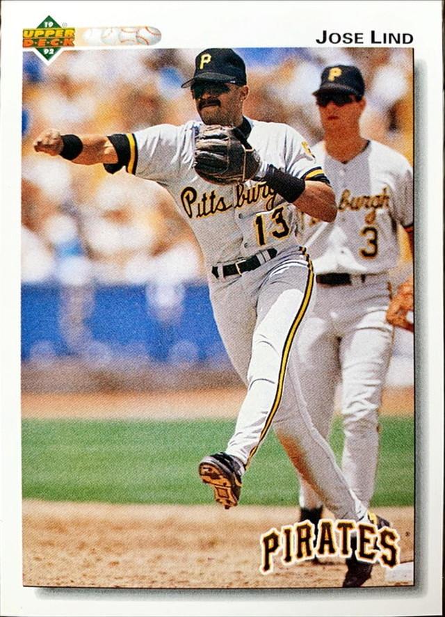 MLBカード 92UPPERDECK Jose Lind #205 PIRATES
