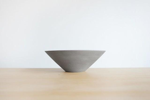 SUITAGAMA (スイタガマ) SG04 Bowl (ボウル・深皿) L Gray