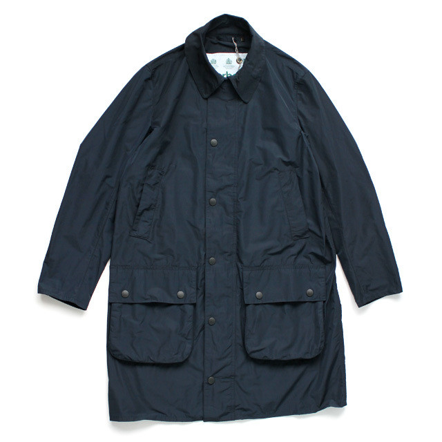 BARBOUR BORDER CASUAL / NAVY