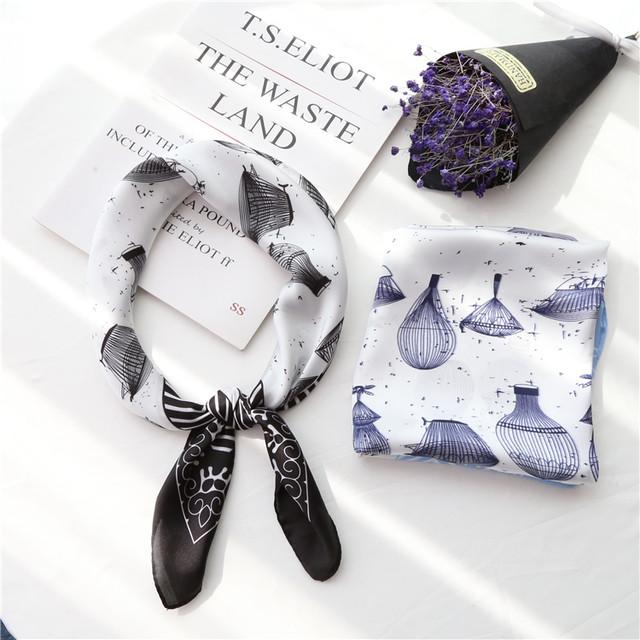 【アクセサリー】気質よい綺麗めファッションオールシーズンプリントスカーフ26560679