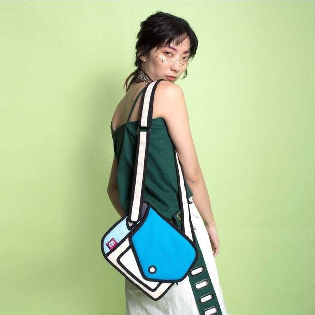 【Jump From Paper】JFP069 長財布/ブルー Color Me In Collection / Spotlight Purse 正規輸入品