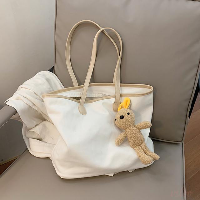 【小物】最愛の一着 レトロ 無地 ファスナー ショルダーバッグ43315200