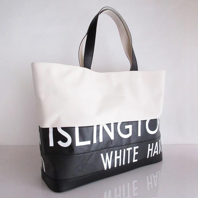 Tote Bag (L) / White  TLW-0007