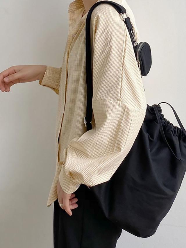【UNISEX - 1size】POCKET SLING BAG / 2colors