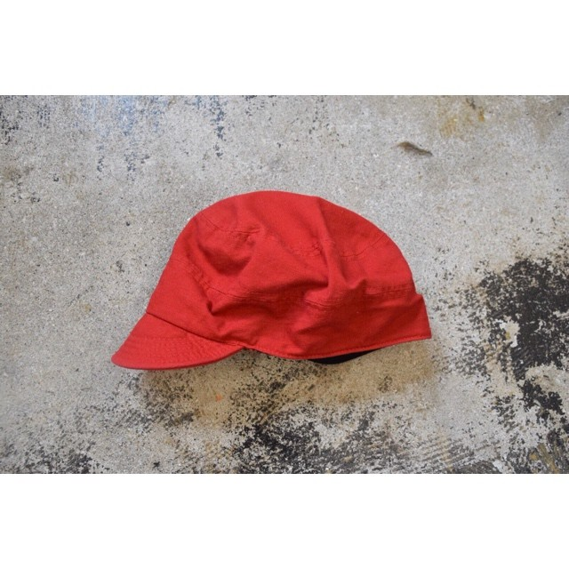 Simva141-0021RED Cotton Round Work Cap