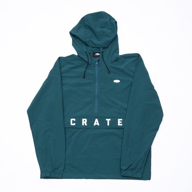 CRATE Nylon Anorak Jacket BLACK