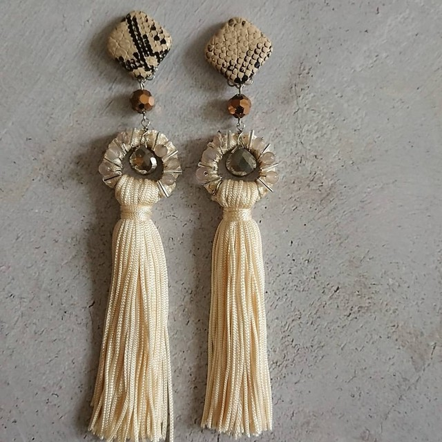 Long Tassel Ear Jewelry