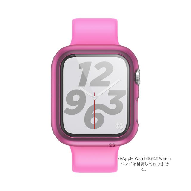 CaseStudi ケーススタディ Apple Watch Explorer case Series4 アップル ウォッチ 半透明 ハード ケース 男女兼用 シリーズ4 シリーズ5 40mm 国内正規品
