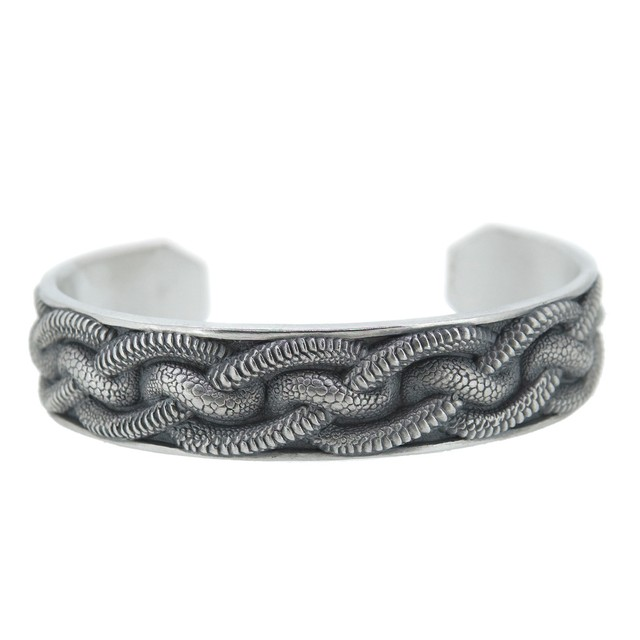 scale knot bangle / DFB-41