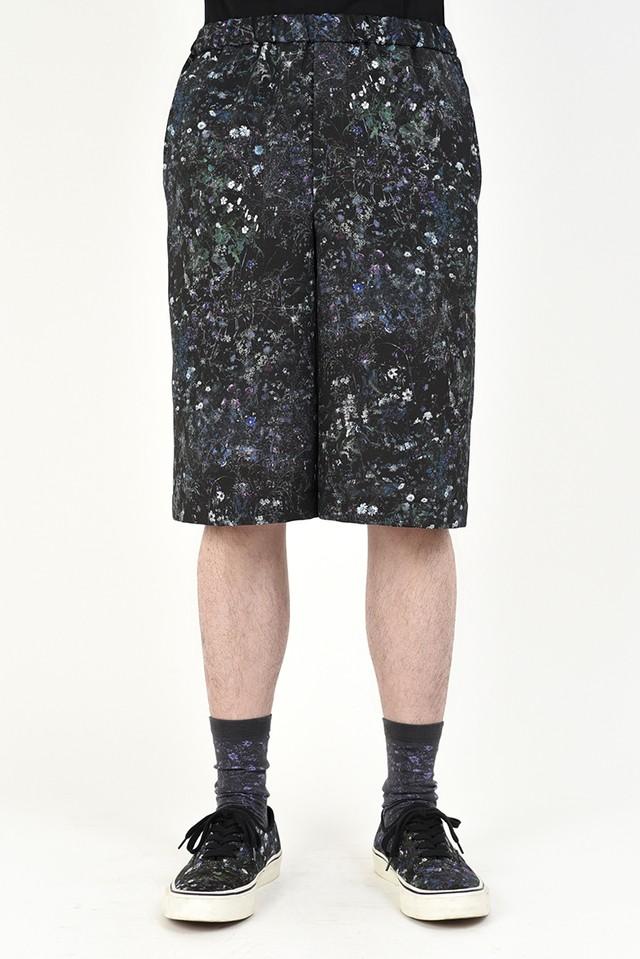 在庫あり MUSICIAN【ラッドミュージシャン】SHORT PANTS (2220-517 BLACK PURPLE )
