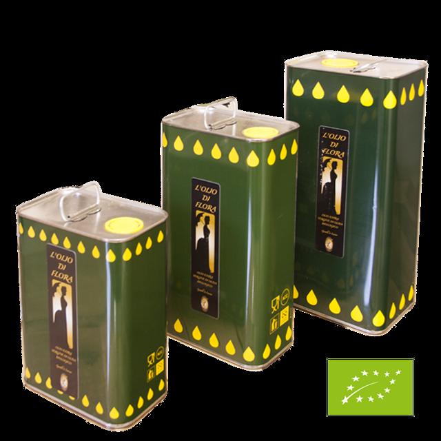 オリーブオイル EU有機認証取得 BIO Olive oil エキストラバージンオリーブオイル(2000ml缶) イタリアモリーゼ産 コールドプレス製法 ジェンティーレ・ディ・ラリーノ 無添加 無漂白 オーガニック