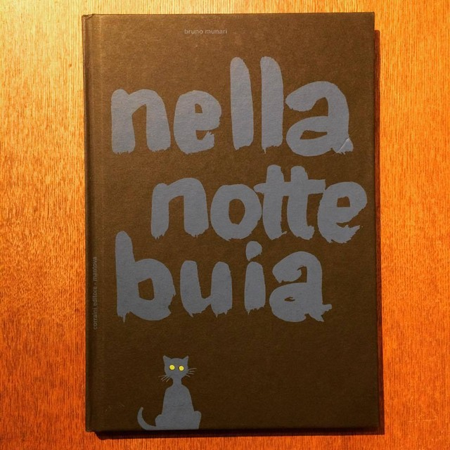 ブルーノ・ムナーリ絵本「 In the Darkness of the Night(Nella notte buia)/Bruno Munari」  - メイン画像
