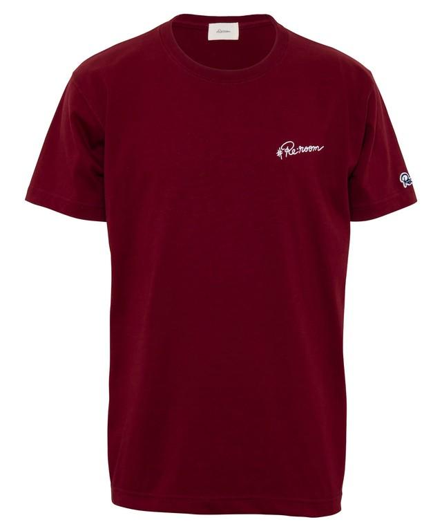 EMBROIDERY LOGO T-shirt[REC395]