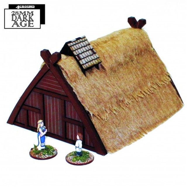 【予約発注】 SAGA:   Norse Hovel/Workshop 28S-DAR-106