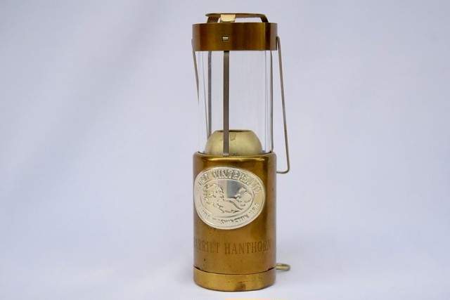 USED 70s-80s Early Winters Brass Candle Lantern 0120