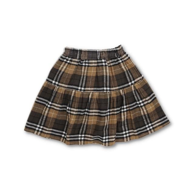 RIO 2段ギャザースカート(パンツ付き)
