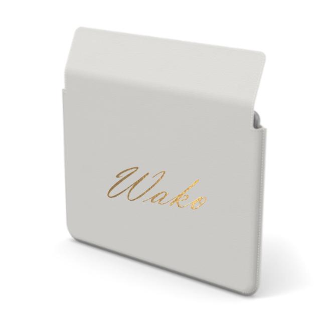 Custom Name iPad Premium Smooth Leather Case (Envelope Type) (Limited/9月分数量限定)