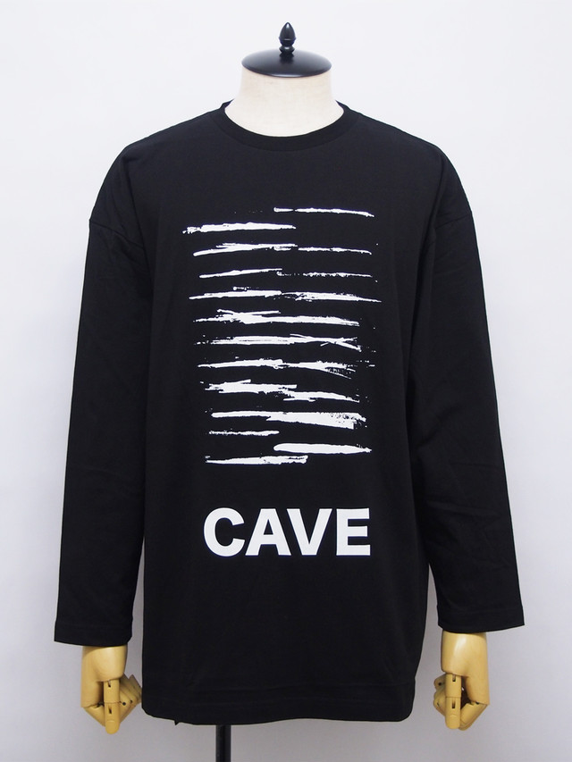 Moonage Devilment (ムーンエイジデビルメント) GRAPHIC OVER L/S TEE G / BLACK mcs-0609-1