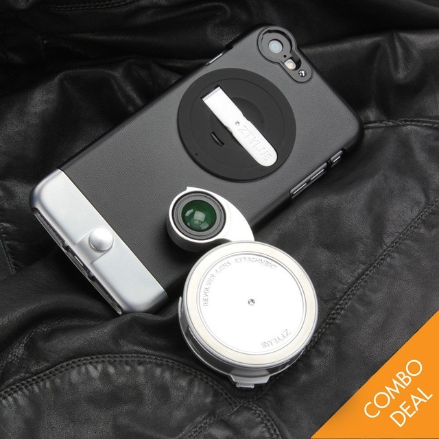 【FOR IPHONE 6 PLUS / 6S PLUS】METAL SERIES CAMERA KIT