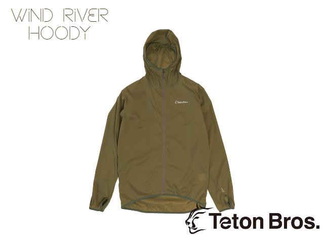【teton bros】 MS Wind River Hoody OLG (OliveGreen)