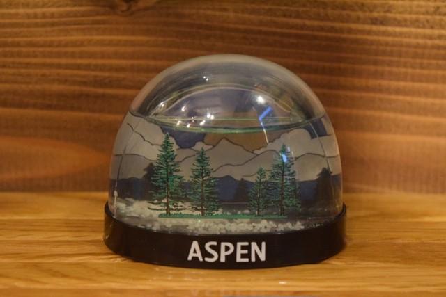 USED スノードーム アスペン ASPEN