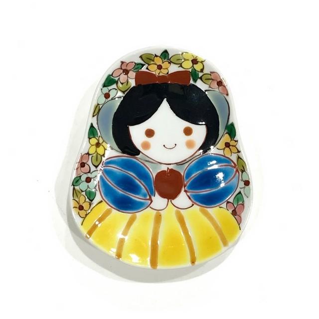 白雪姫   豆皿《曽我部治子》