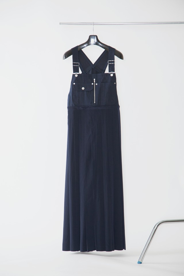 【FW20 先行受注】overall jumper skirt