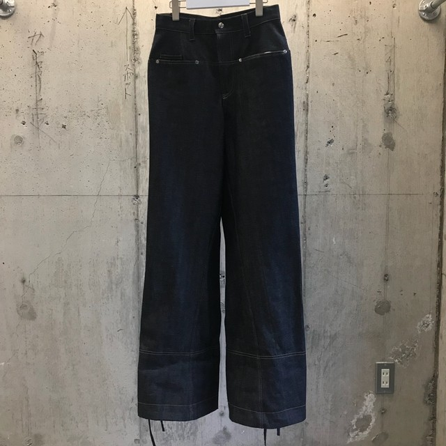 odd_ Drawwing Denim Pants