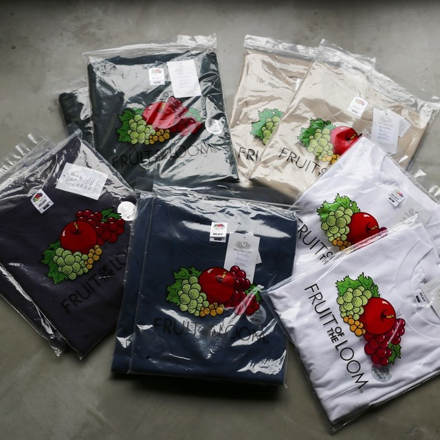 FRUIT OF THE LOOM / HEAVY COTTON POCKET T-SHIRT