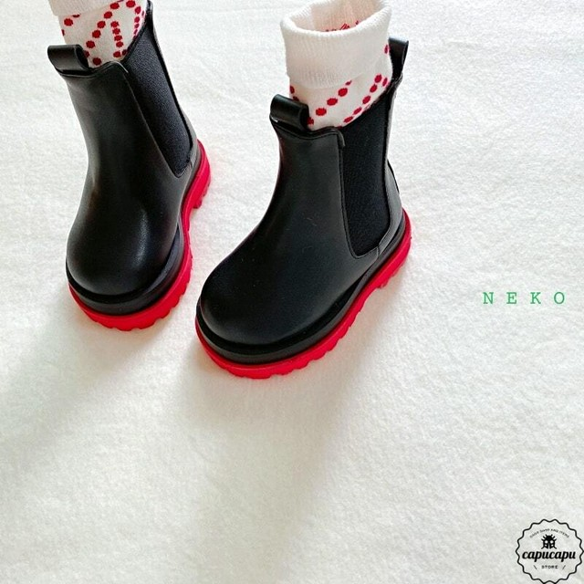 «sold out» two tone boots 3colors サイドゴアブーツ