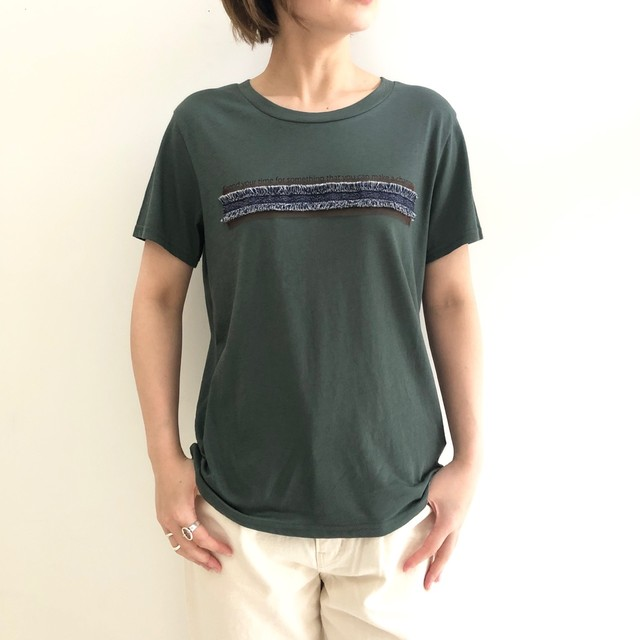 【 CYNICAL 】- 912-95142 - デニムプリンジTeeシャツ
