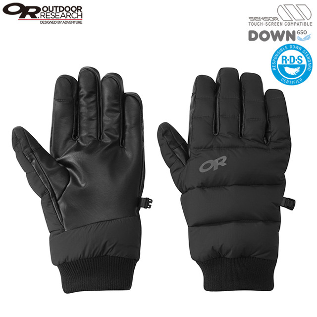 新品 Outdoor Research TRANSCENDENT DOWN GLOVES G0668