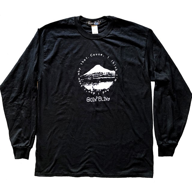 Goin' Blind Long Sleeve Tee (JFK-018) - Black