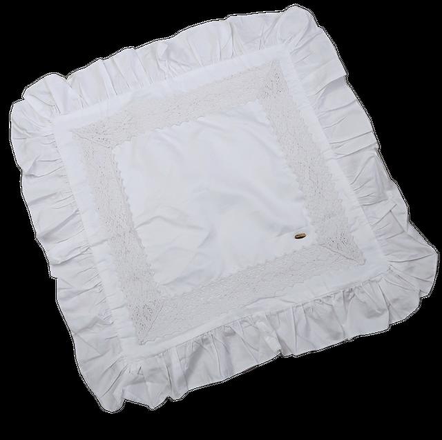 Square lace cushion cover / スクエアレースクッションカバー