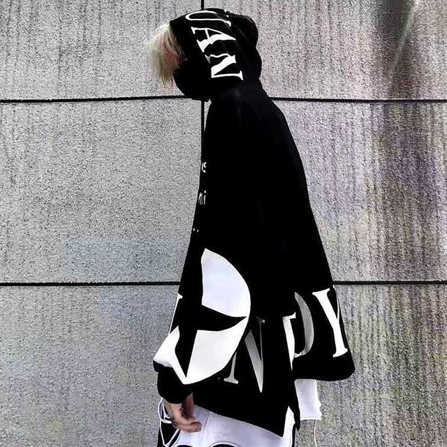 【トップス】ファッション設計感あり格好いいストリート系男女兼用パーカー36775377