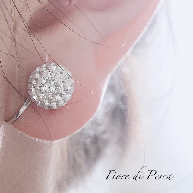 Kelly Paveball Earing (10㎜)
