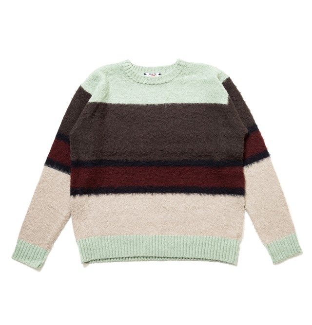 【SON OF THE CHEESE】MOHAIR BORDER TURQUISE