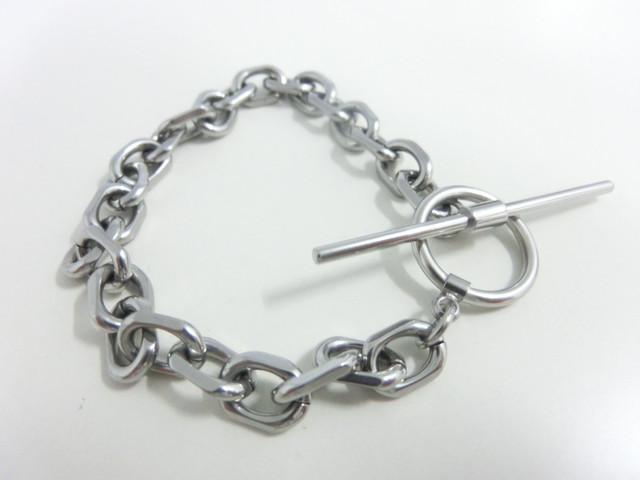 【 UNSEABLE 】Chain braselet /  Stainless steel