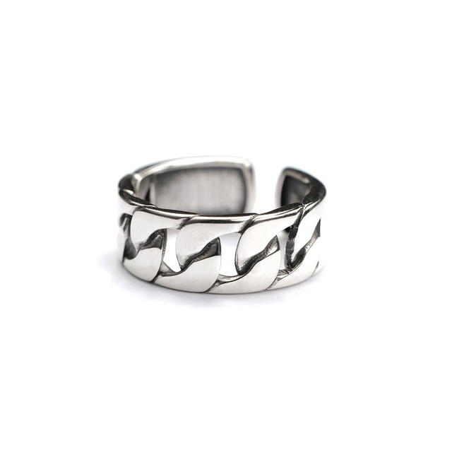 S925 THICK CHAIN RING 02