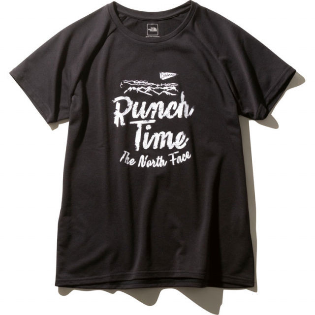 【TNF】 S/S FREE RUN TEE (Black)