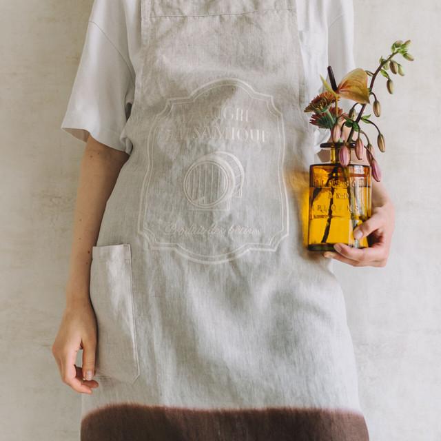 【セット割】ボトルエプロン&リサイクルカラーボトル(バルサミコ&アンバー)