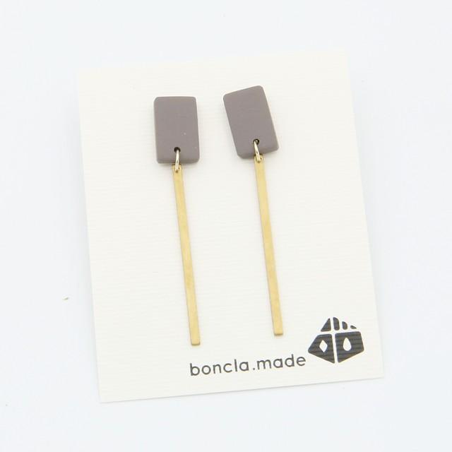 boncla.made/ボンクラメイド/棒付きピアス/165